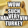 Thanksgiving Doge