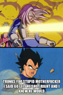 trunks you stupid motherfucker i said go left he shot right and i knew he would