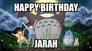 Happy Birthday from Totoro to you